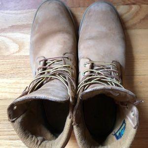 Men's wheat timberland boots
